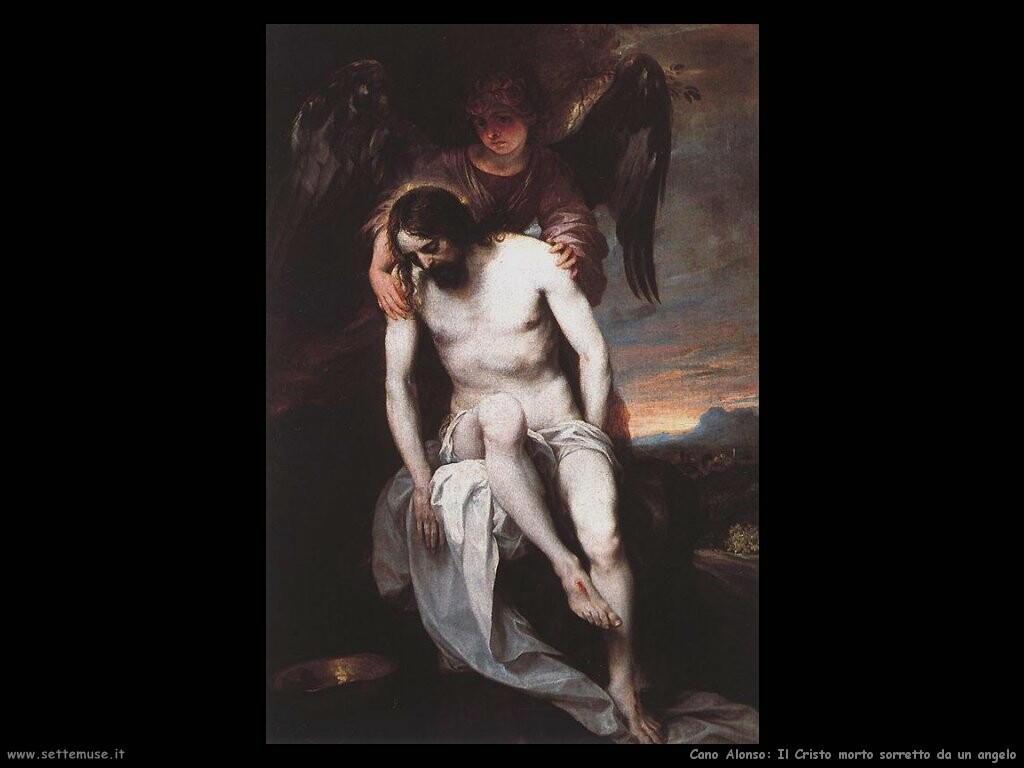 Morte di Cristo sorretto da un Angelo