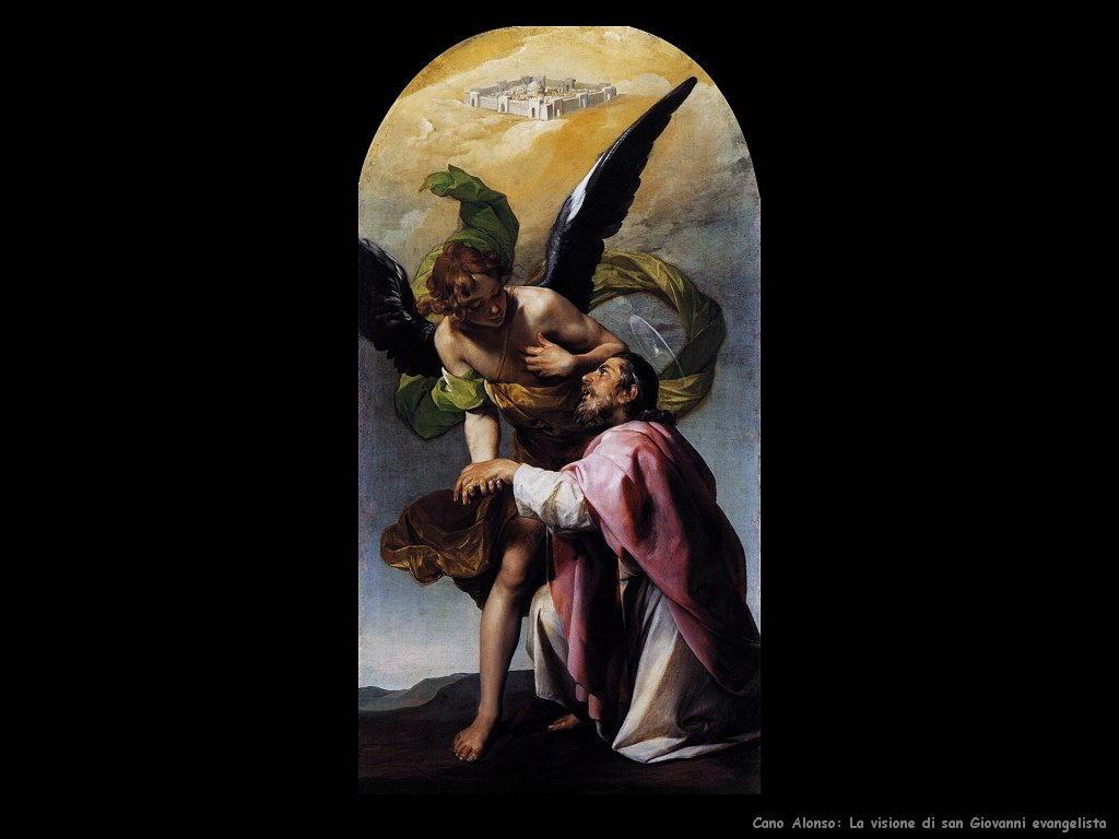 La visione di san Giovanni Evangelista