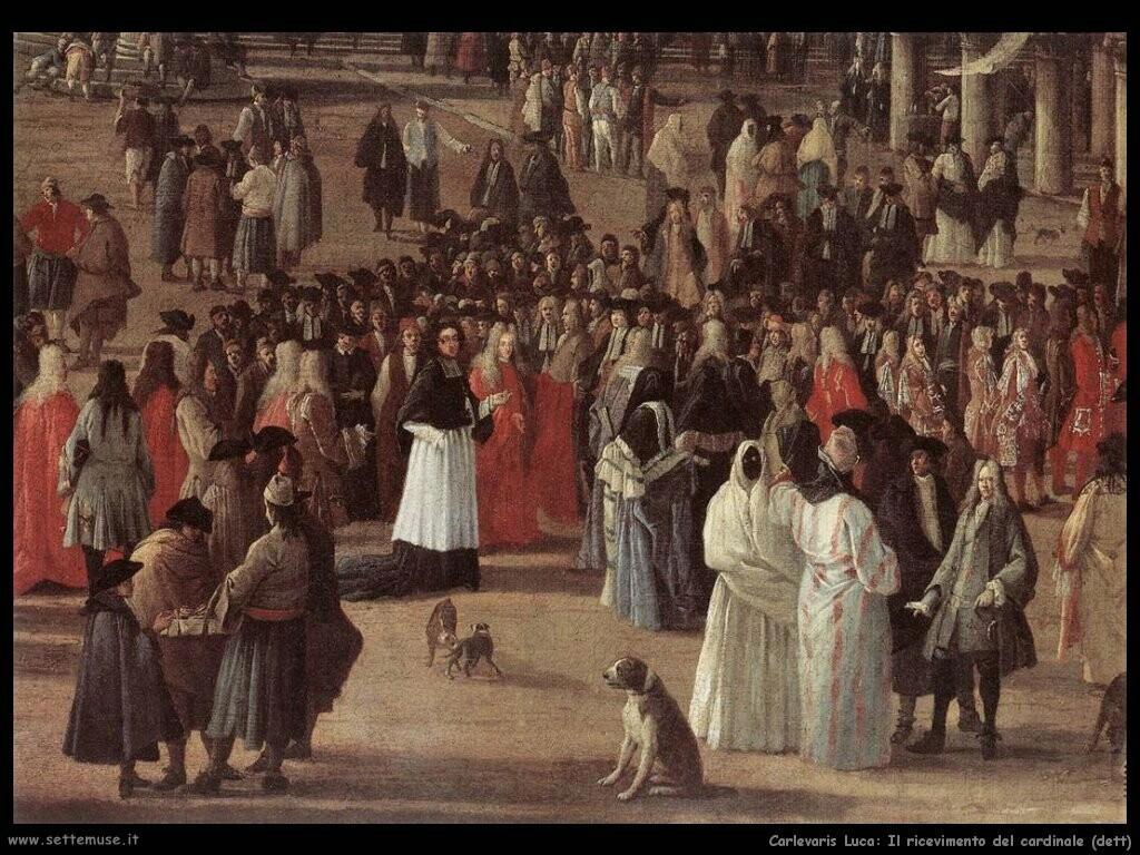 Il ricevimento del cardinale (Venezia) (dett)
