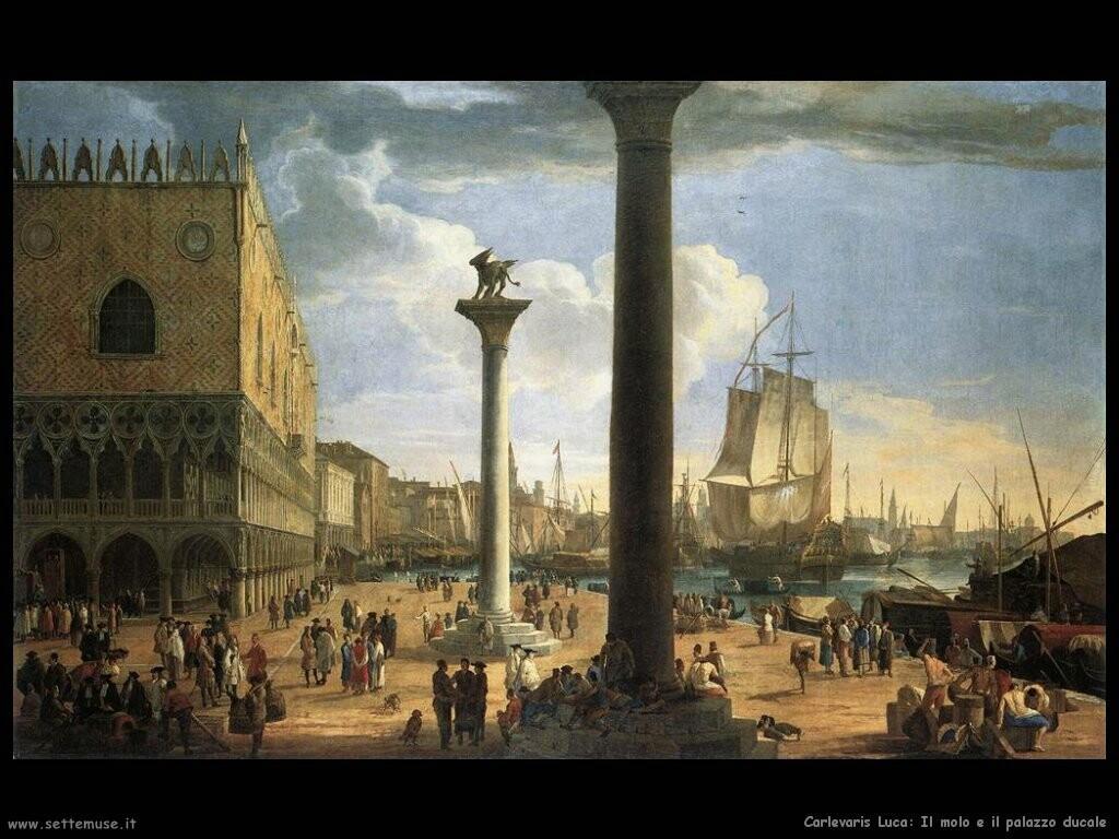 Il molo col palazzo ducale