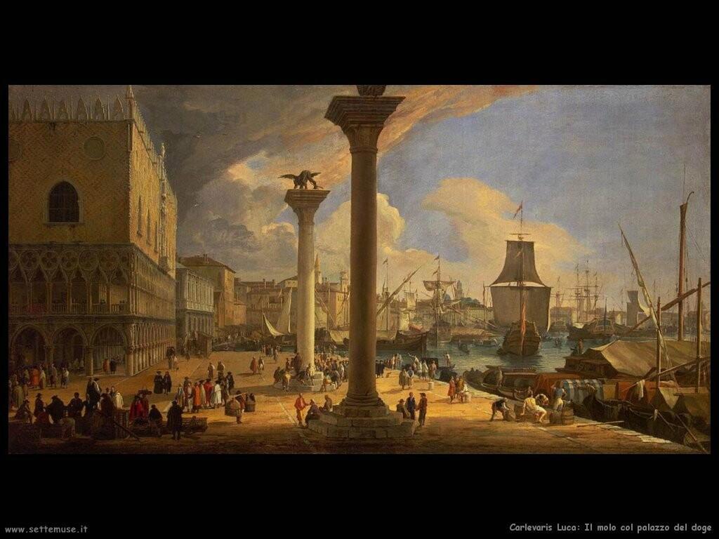 Molo davanti al palazzo del doge (Venezia)