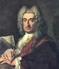 Autoritratto di Luca Carlevaris o Carlevarijs
