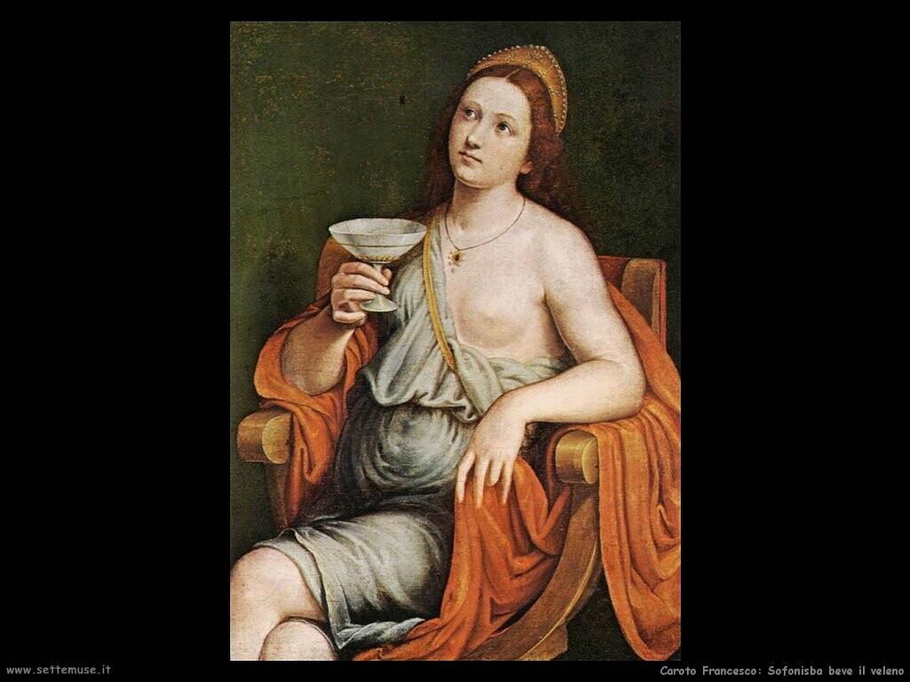Sofonisba beve il veleno