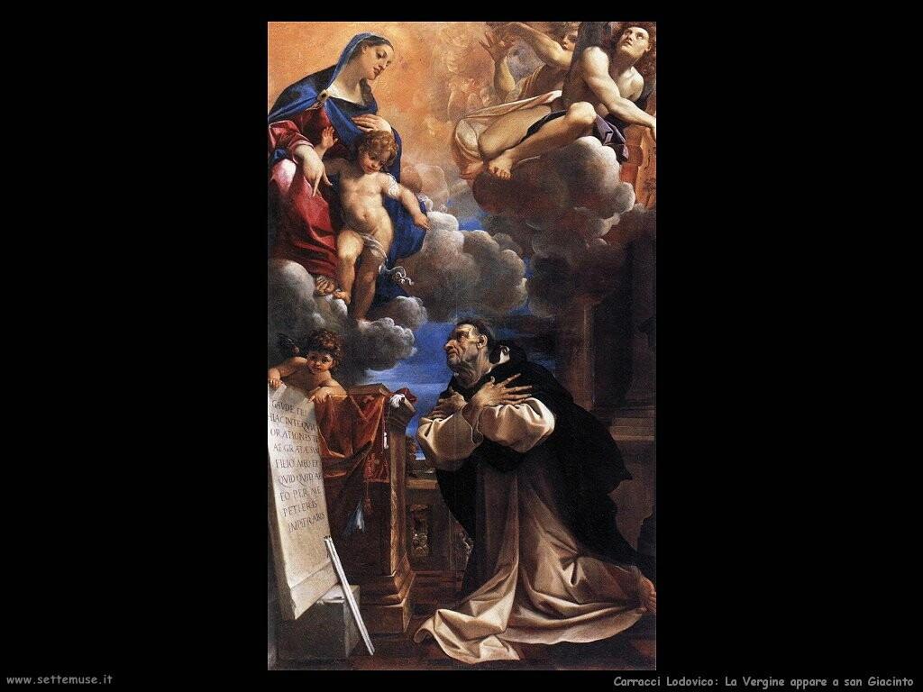 La Vergine appare a san Giacinto