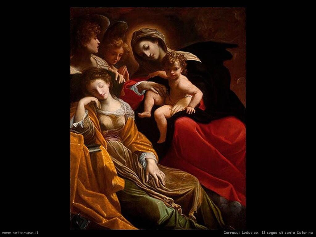 Il sogno di santa Caterina