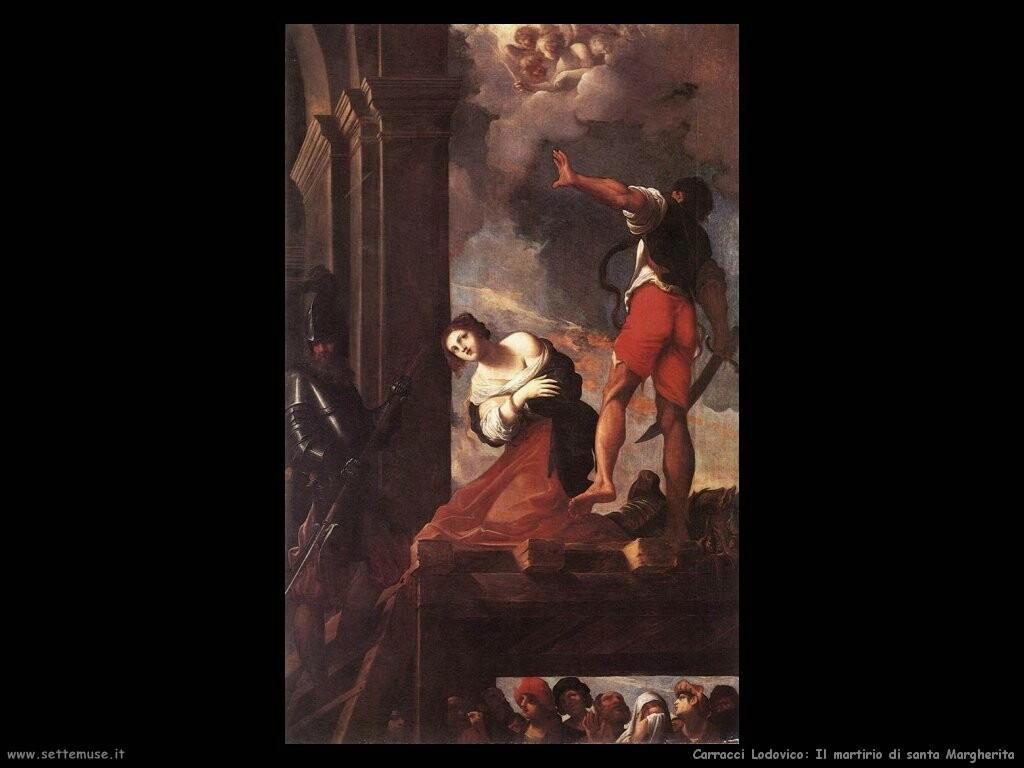Il martirio di santa Margherita