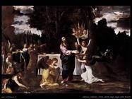 Cristo servito dagli angeli nel deserto