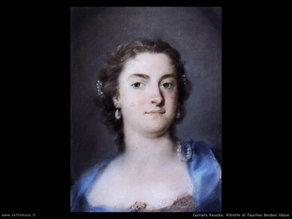 Ritratto di Faustina Bordoni Hasse