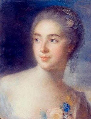 Autoritratto di Rosalba Carriera