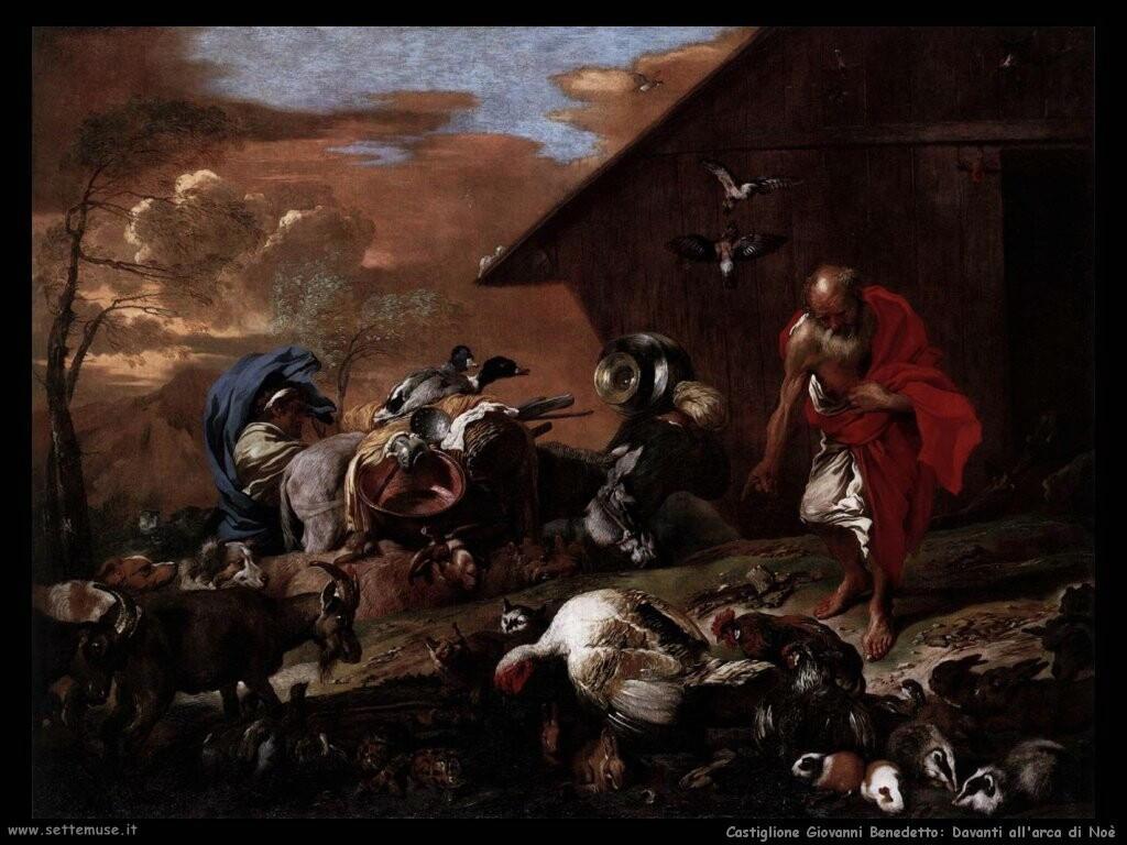 Davanti all'arca di Noè