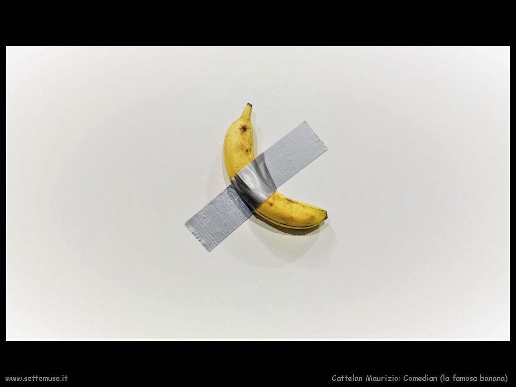 comedian banana