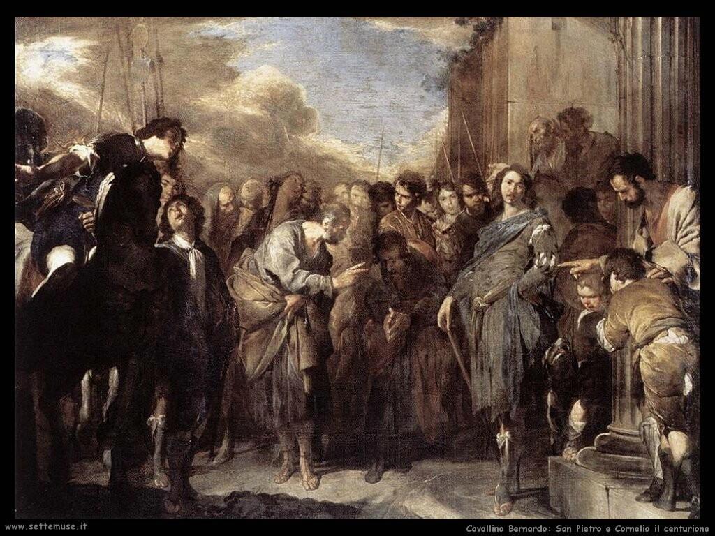 San Pietro e Cornelio il centurione