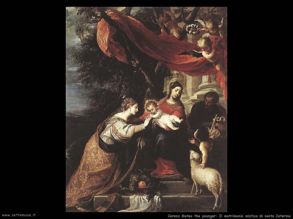 Il matrimonio mistico di santa Caterina