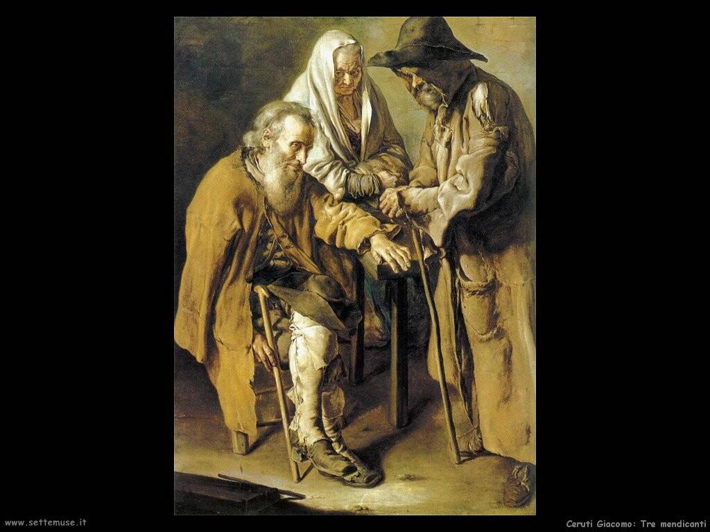 Tre mendicanti