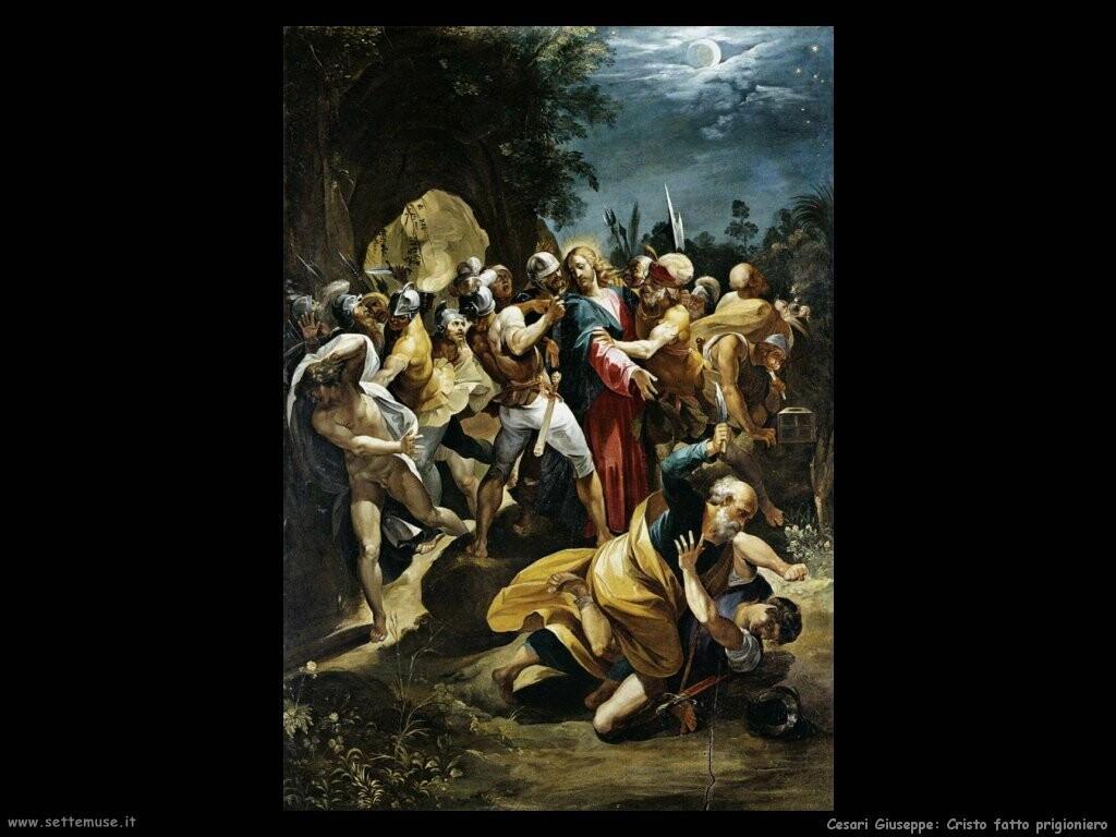 Cristo fatto prigioniero