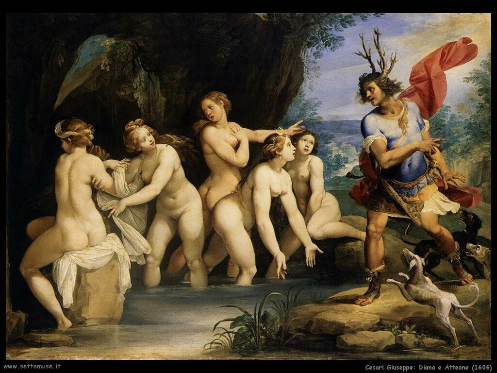 Diana e Atteone (1606)