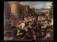 Santa Chiara allontana i saraceni da Assisi