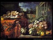 Natura morta con frutta e dolci