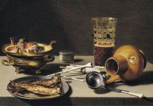 Pittura di Pieter Claesz