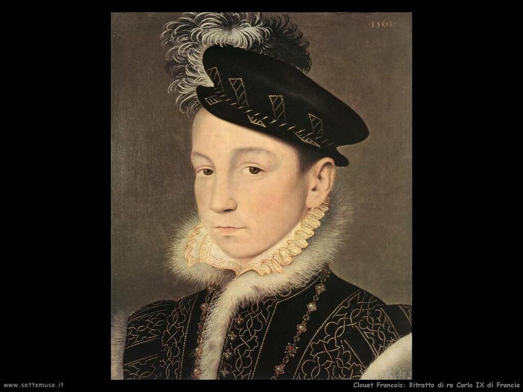 Ritratto di re Carlo IX di Francia
