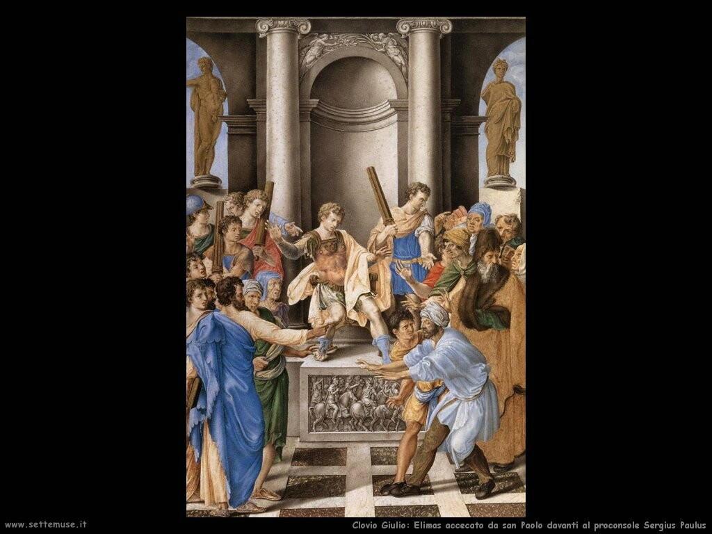 Elimas accecato da san Paolo...