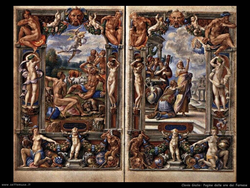 Pagine dalle ore dei Farnese