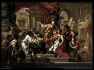 Alessandro il grande al tempio