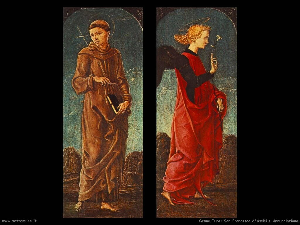 San Francesco di Assisi e Annunciazione