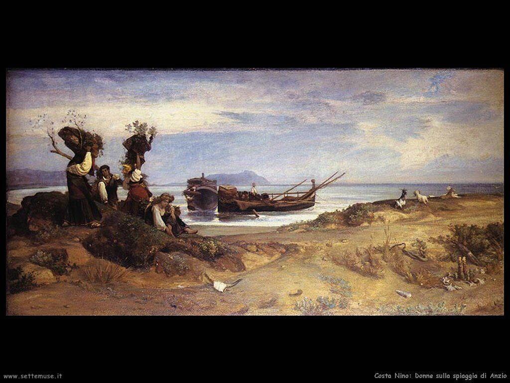 Donne sulla spiaggia di Anzio