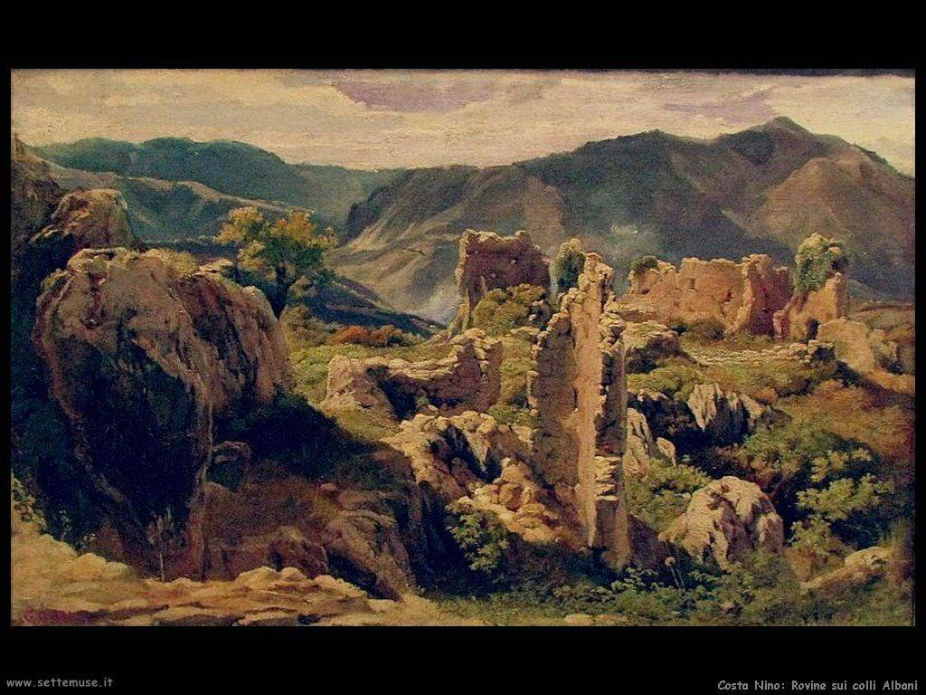 Rovine sui colli Albani
