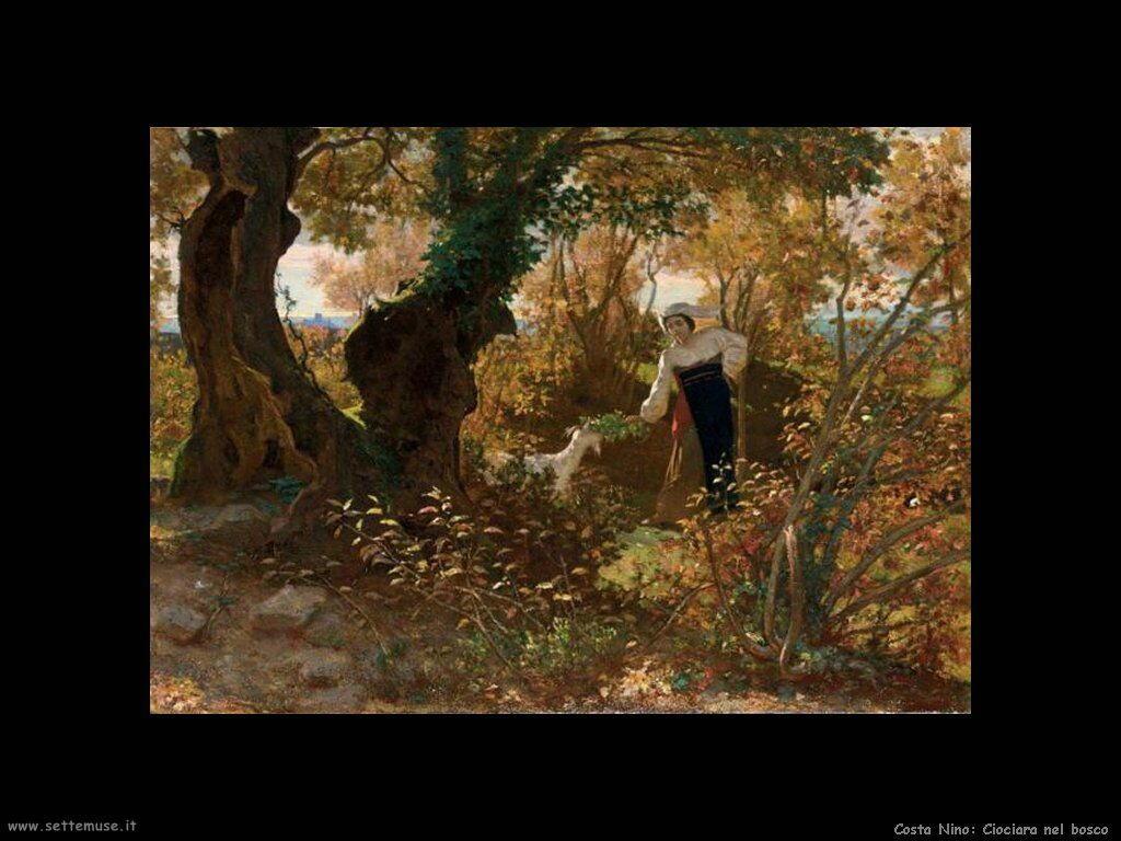 Ciociara nel bosco