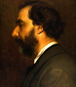 Autoritratto di Nino Costa