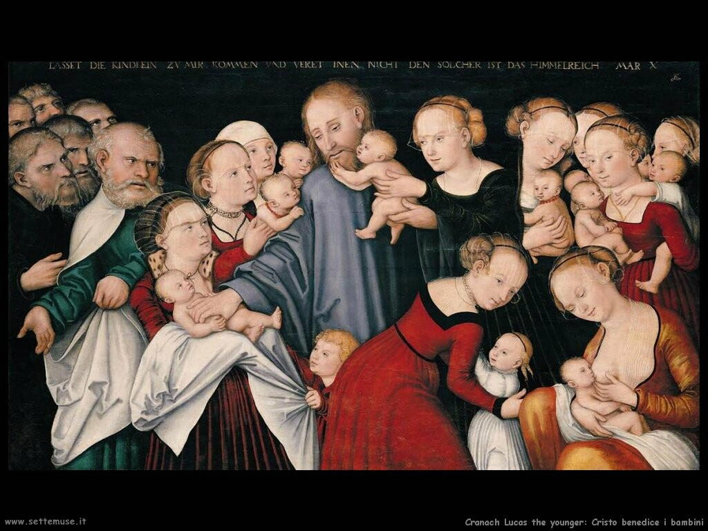 Cristo benedice i bambini