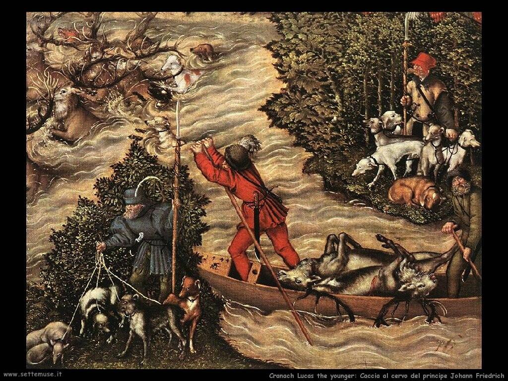 Caccia al cervo del principe Johann Friedrich