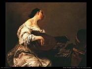 Donna che suona il liuto