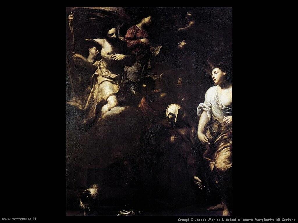 Estasi di santa Margherita di Cortona