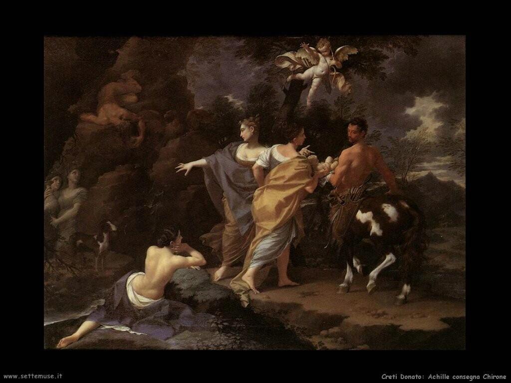 Achille consegna Chirone