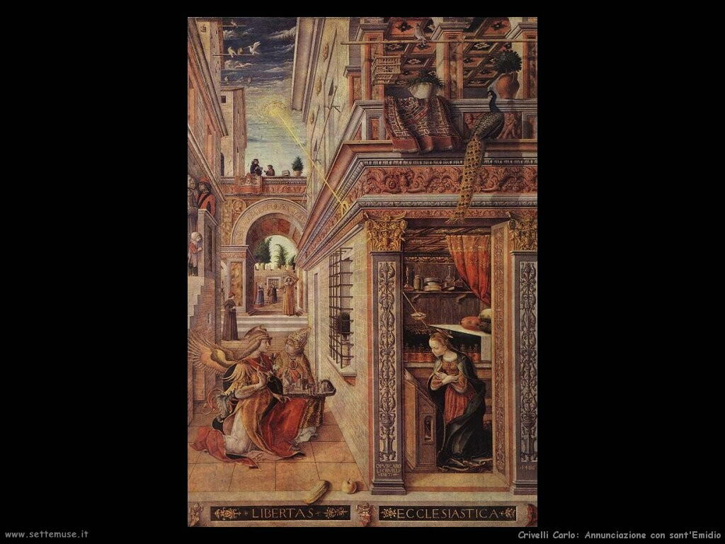 Annunciazione con sant'Emidio