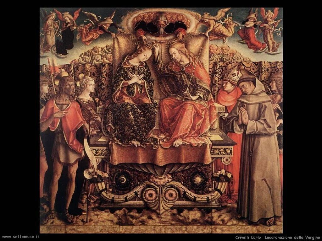 Incoronazione della Vergine (dett)