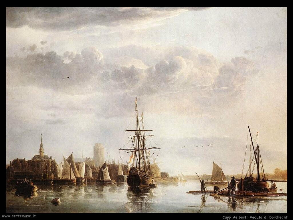 Vista di Dordrecht
