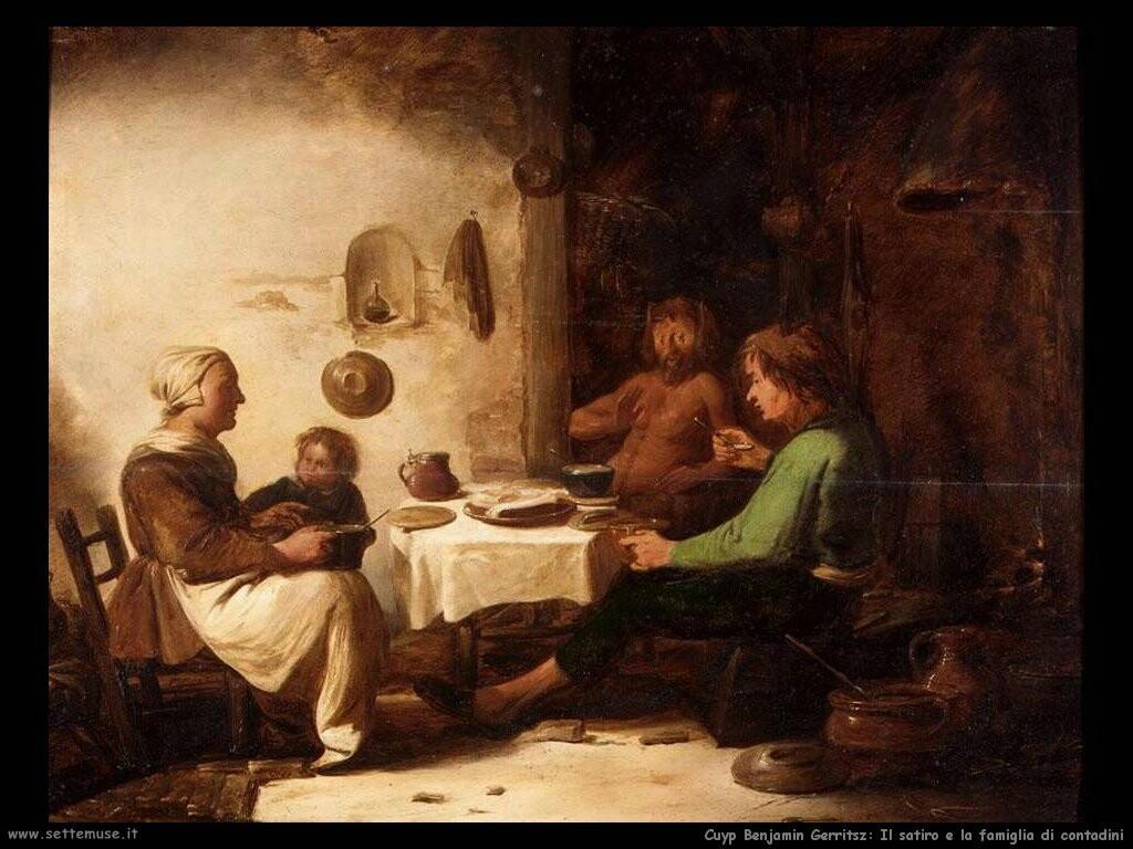 Il satiro e la famiglia contadina