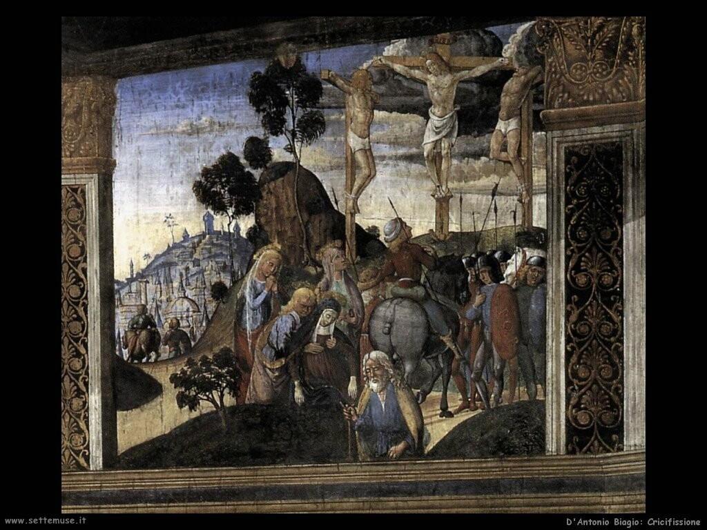 d antonio biagio Crocifissione