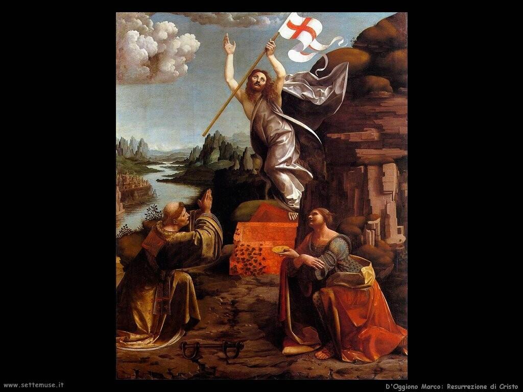 d oggiono marco Resurrezione di Cristo
