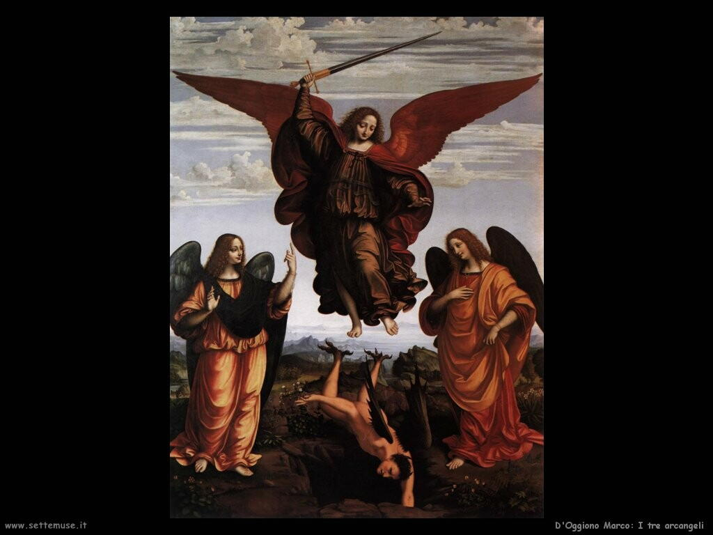 d oggiono marco I tre arcangeli