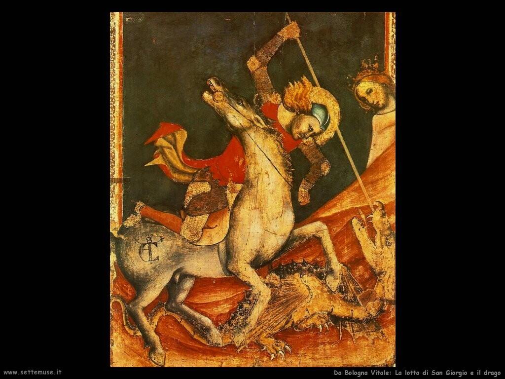 da bologna vitale San Giorgio e il drago