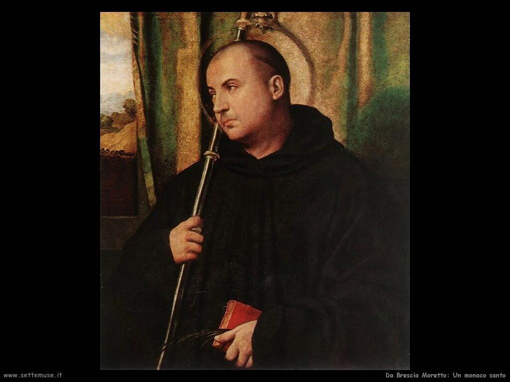 da brescia moretto Un monaco santo
