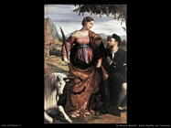 da brescia moretto Santa Giustina con l'unicorno