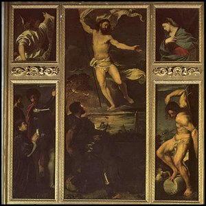 Pittura di Alessandro Bonvicino detto Moretto da Brescia
