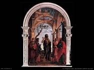 da conegliano cima San Giovanni battista con santi