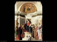 da conegliano cima Madonna in trono col bambino